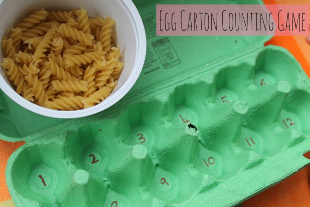 Egg Carton Counting Game