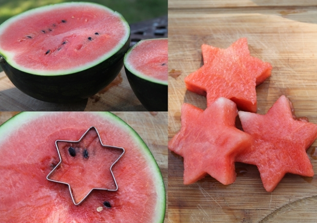 watermelon shapes, watermelon for kids, watermelon pops